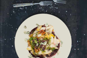 Beet,Endive and Walnut Salad
