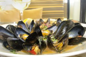 Mouthwatering Mussels are a staple in this Oceanfront Restaurant in Fort Lauderdale